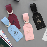 iconic(4800)压纹行李牌 Flying luggage tag(4款选)