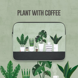 ALL NEW FRAME(27000)13寸印花防撞电脑包 Plant with coffee